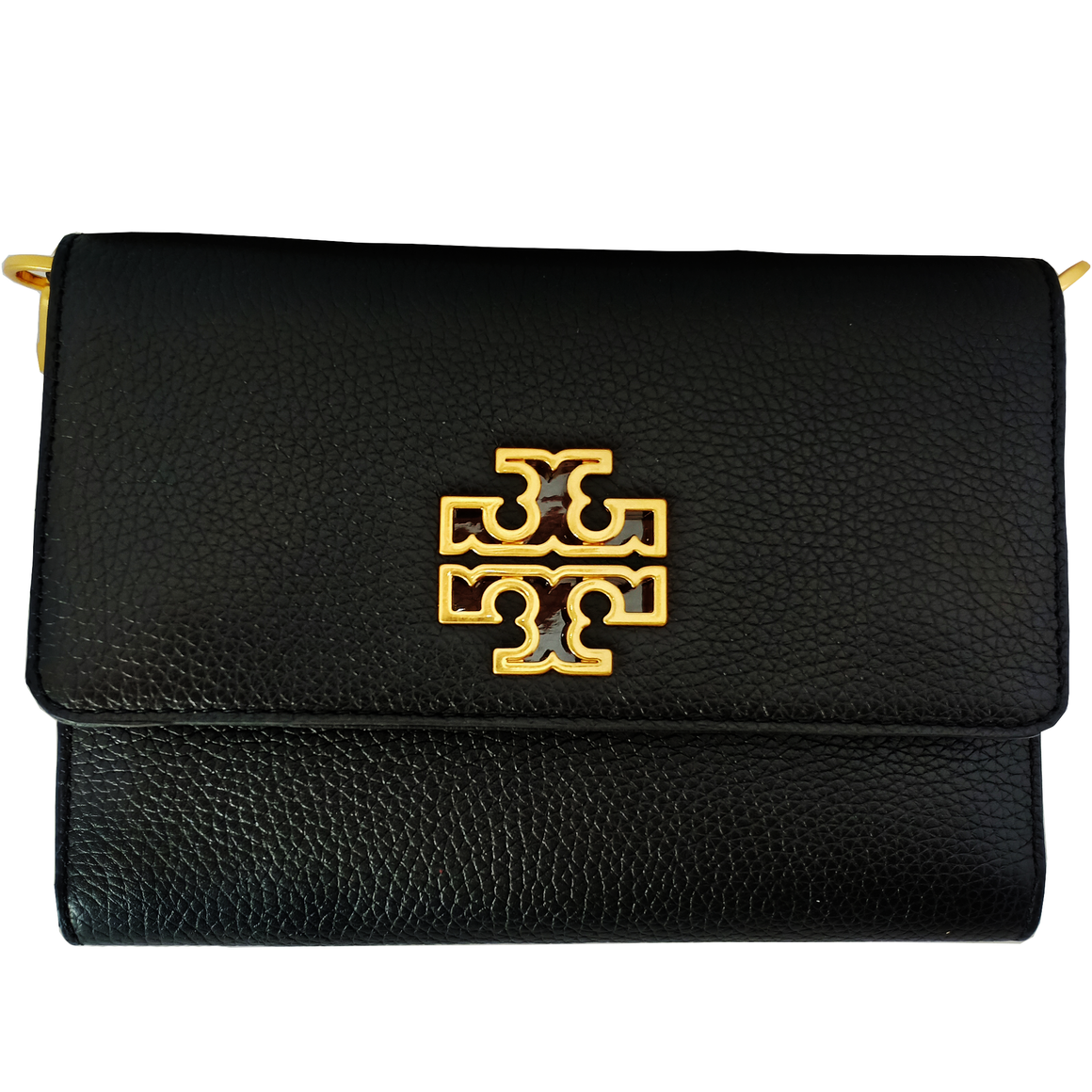 Tory Burch Britten Combo Crossbody Bag - Black