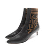 Fendi Scuba Knit Kitten Boot