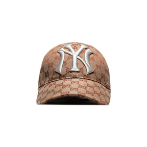 Gucci Canvas Tab X Ny Yankees Edition Hat