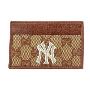 Gucci New York Yankees Supreme GG Cardholder