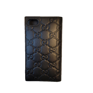 Gucci Iphone 7/8 Case/Wallet Black