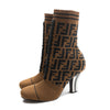 Fendi Rockoko Knit Ankle Boot