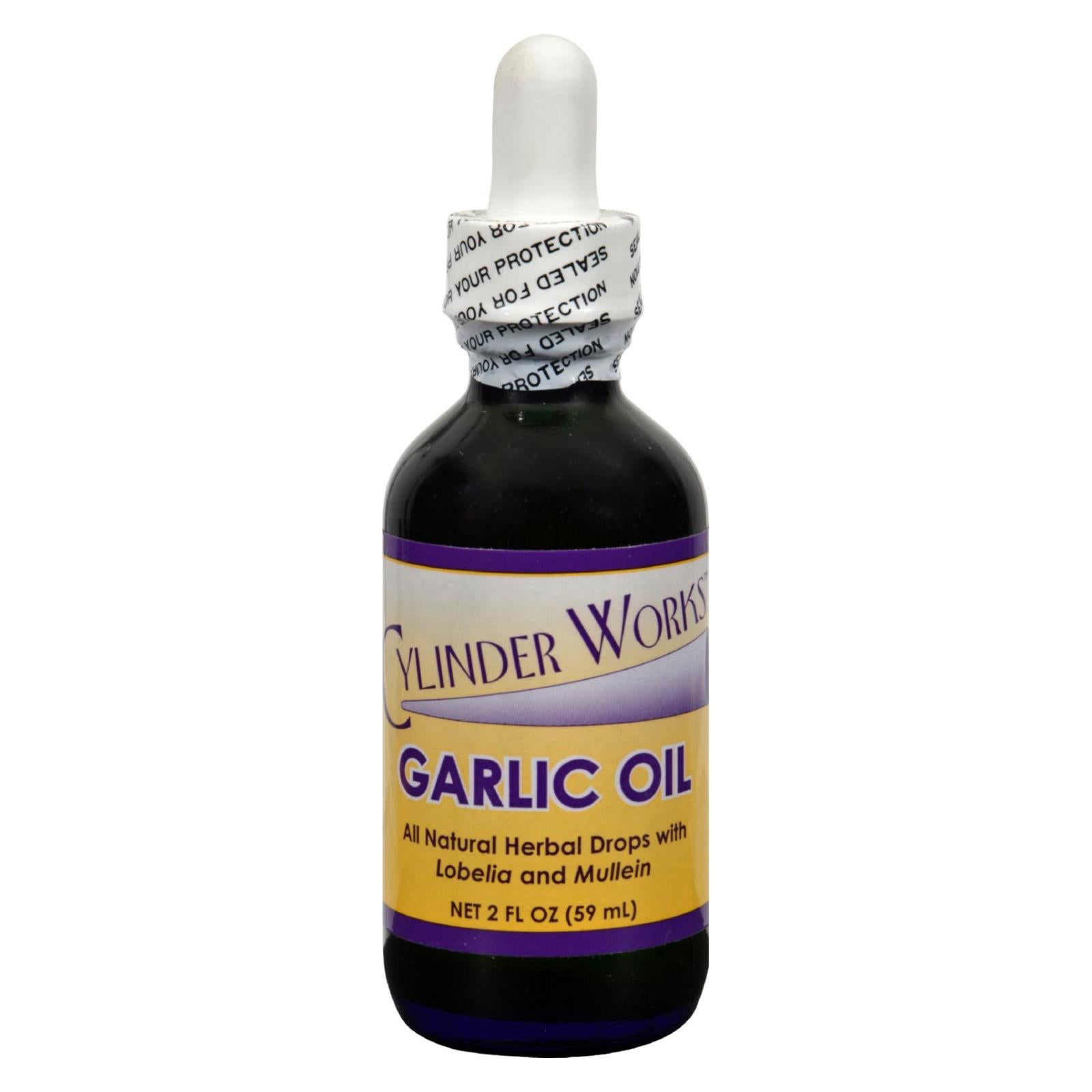 Cylinder Works - Garlic Oil - 2 Oz