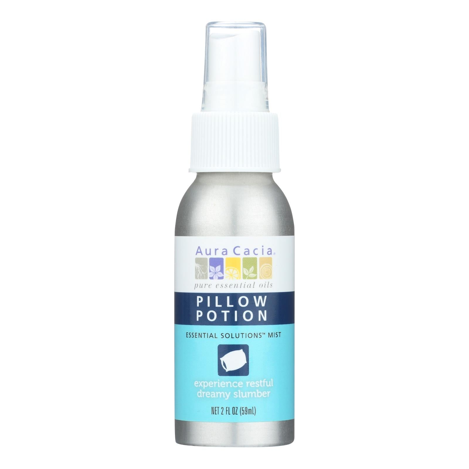 Aura Cacia - Essential Solutions Mist Pillow Potion - 2 Fl Oz