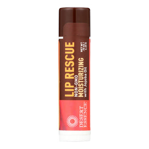 Desert Essence - Lip Rescue Display Case - Jojoba And Aloe - Case Of 24 - .15 Oz