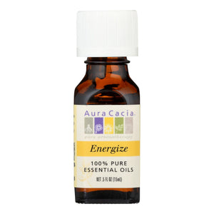 Aura Cacia - Pure Essential Oil Energize - 0.5 Fl Oz