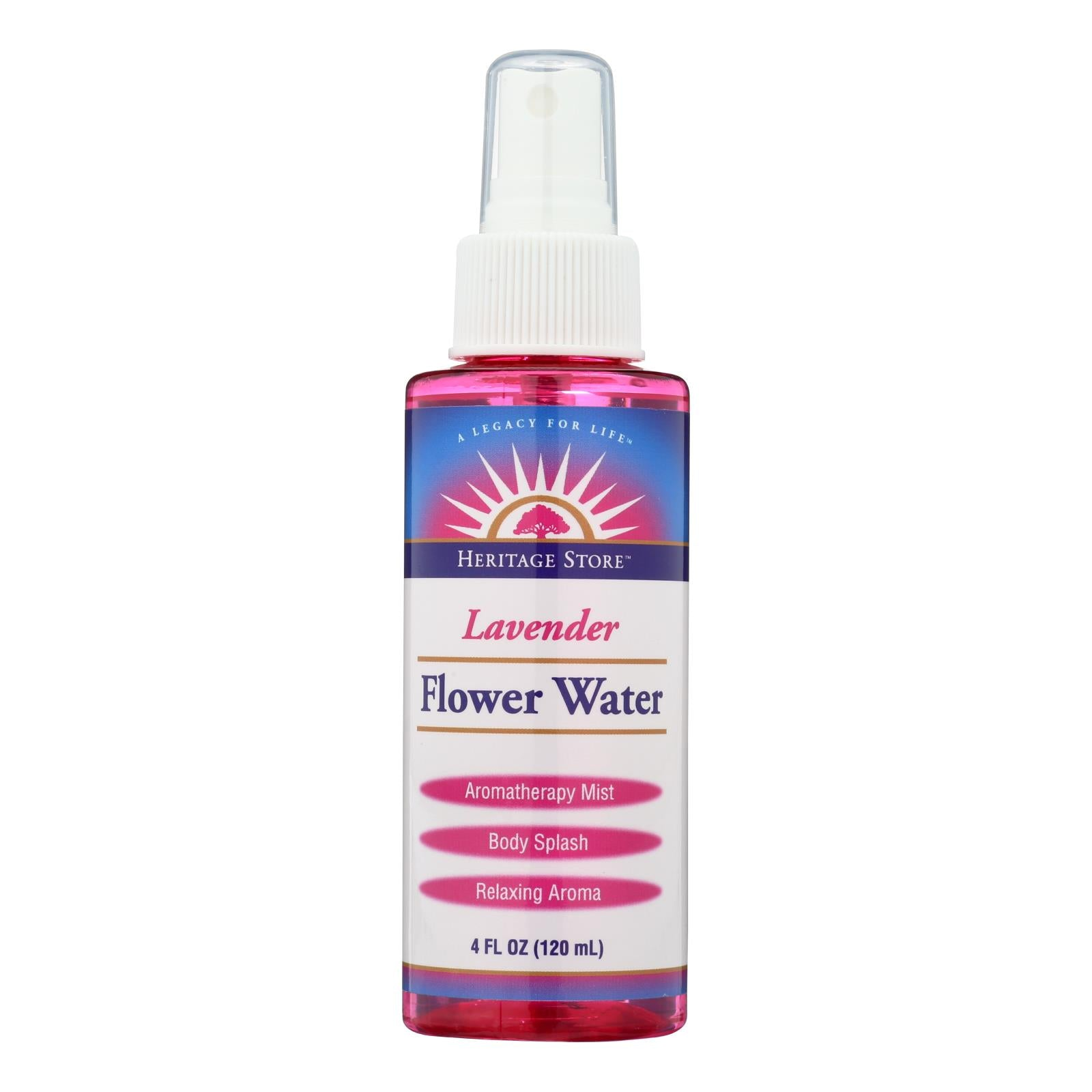 Heritage Products Flower Water Lavender - 4 Fl Oz