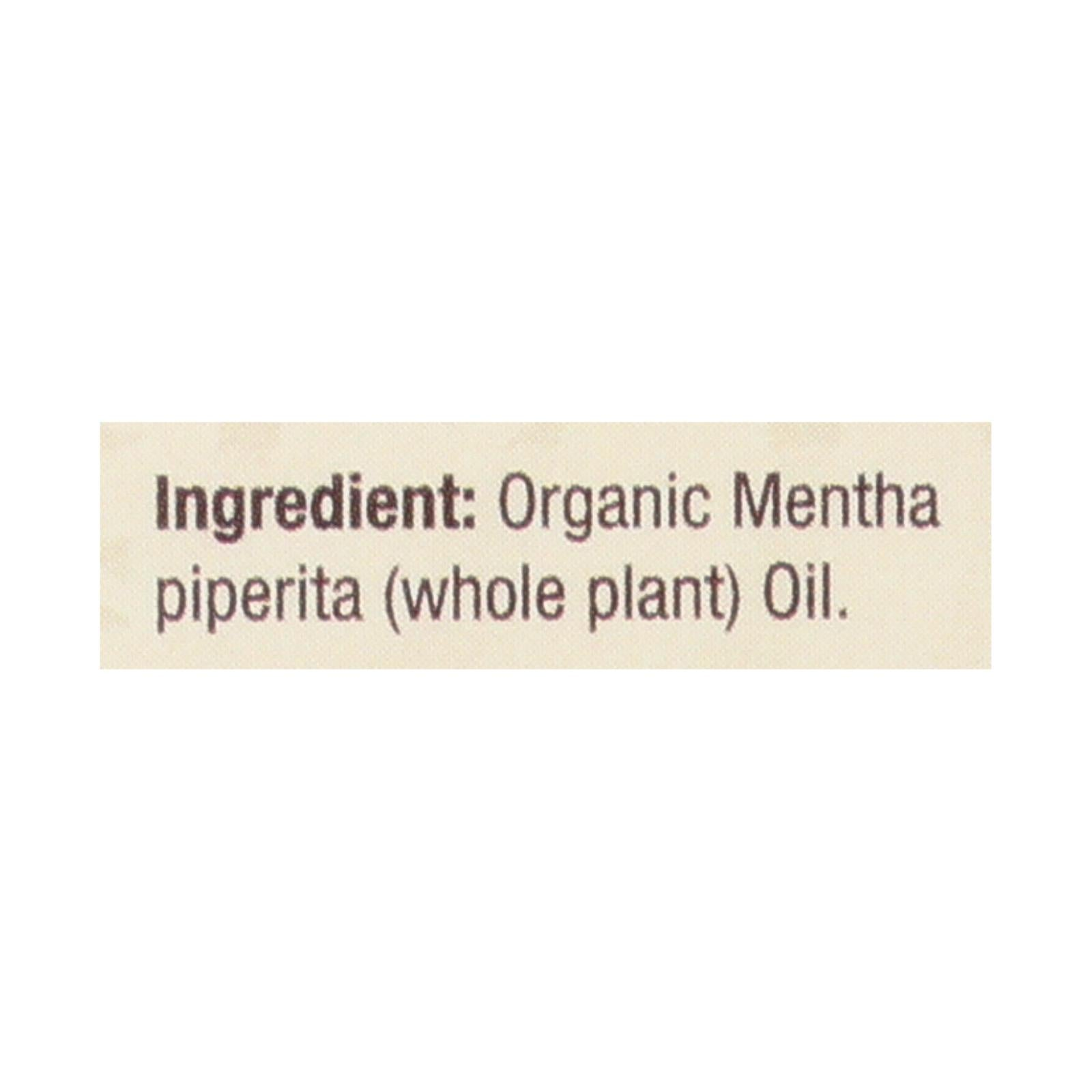 Nature's Answer - Organic Essential Oil - Peppermint - 0.5 Oz.