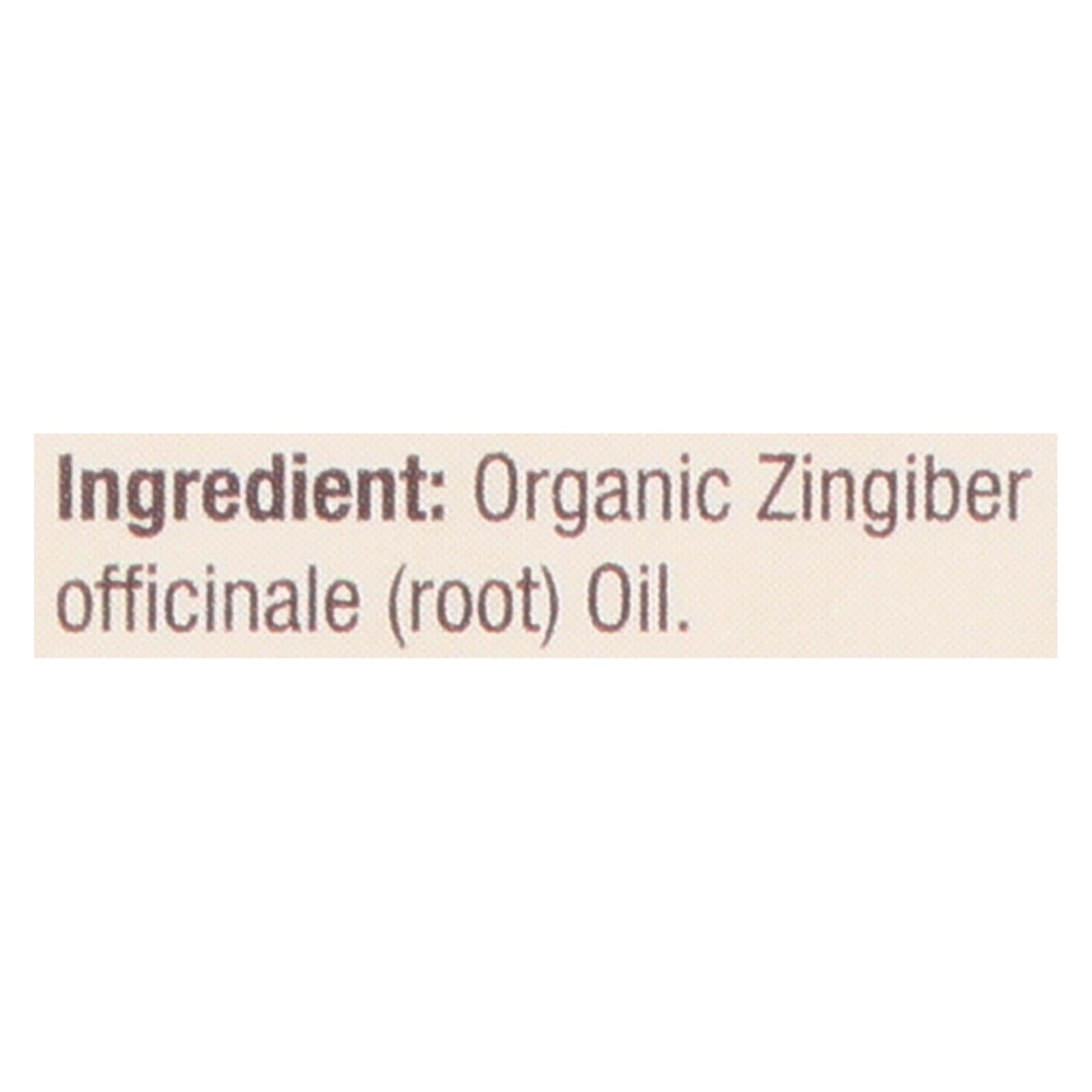 Nature's Answer - Organic Essential Oil - Ginger Root - 0.5 Oz.