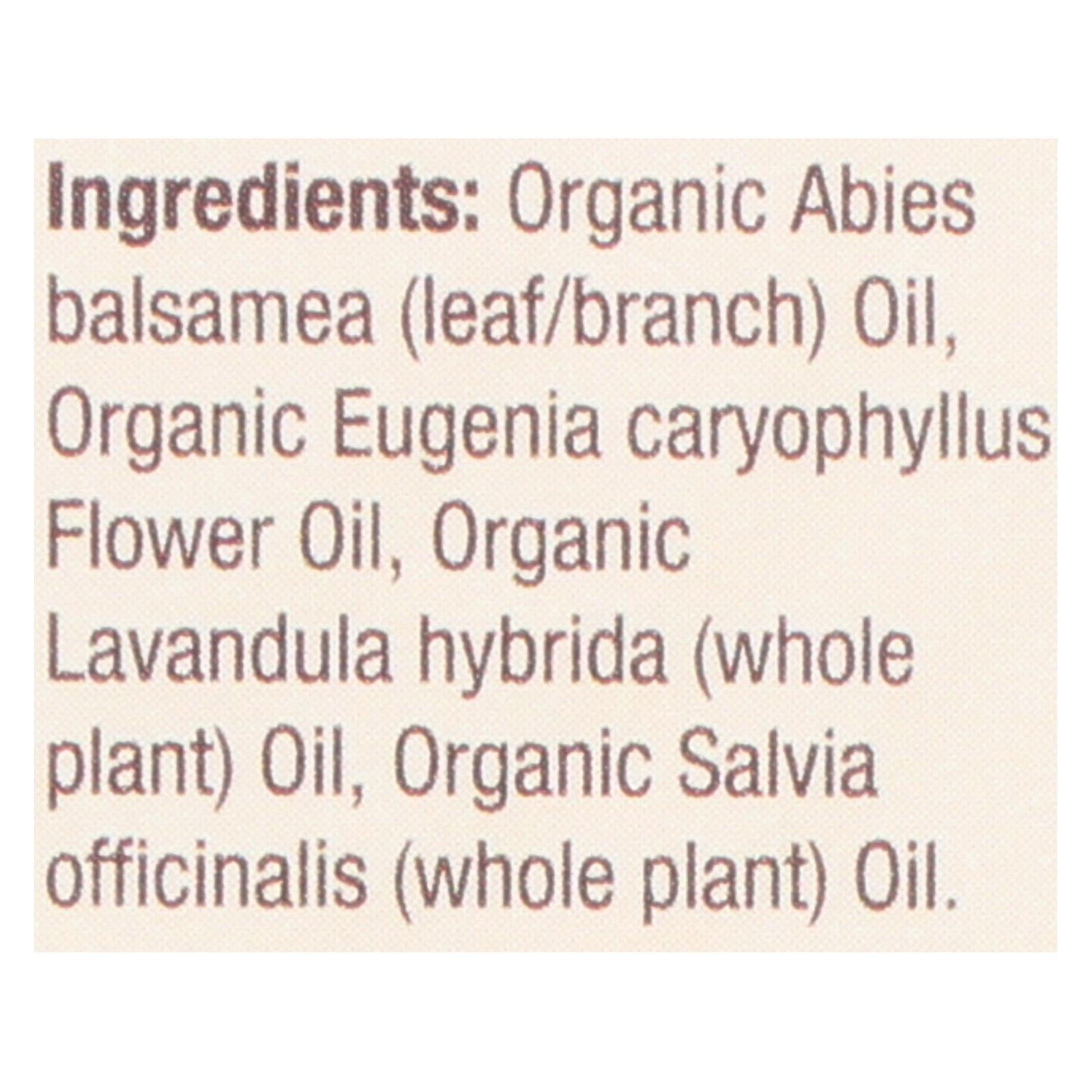 Nature's Answer - Organic Essential Oil Blend - Alpine Fresh - 0.5 Oz.