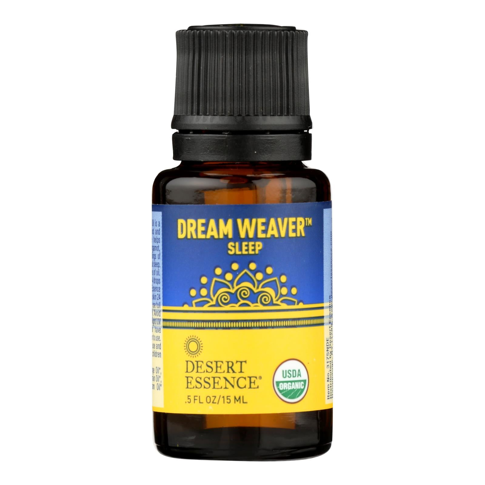 Desert Essence - Essential Oil - Dream Weaver - Case Of 1 - .5 Fl Oz.