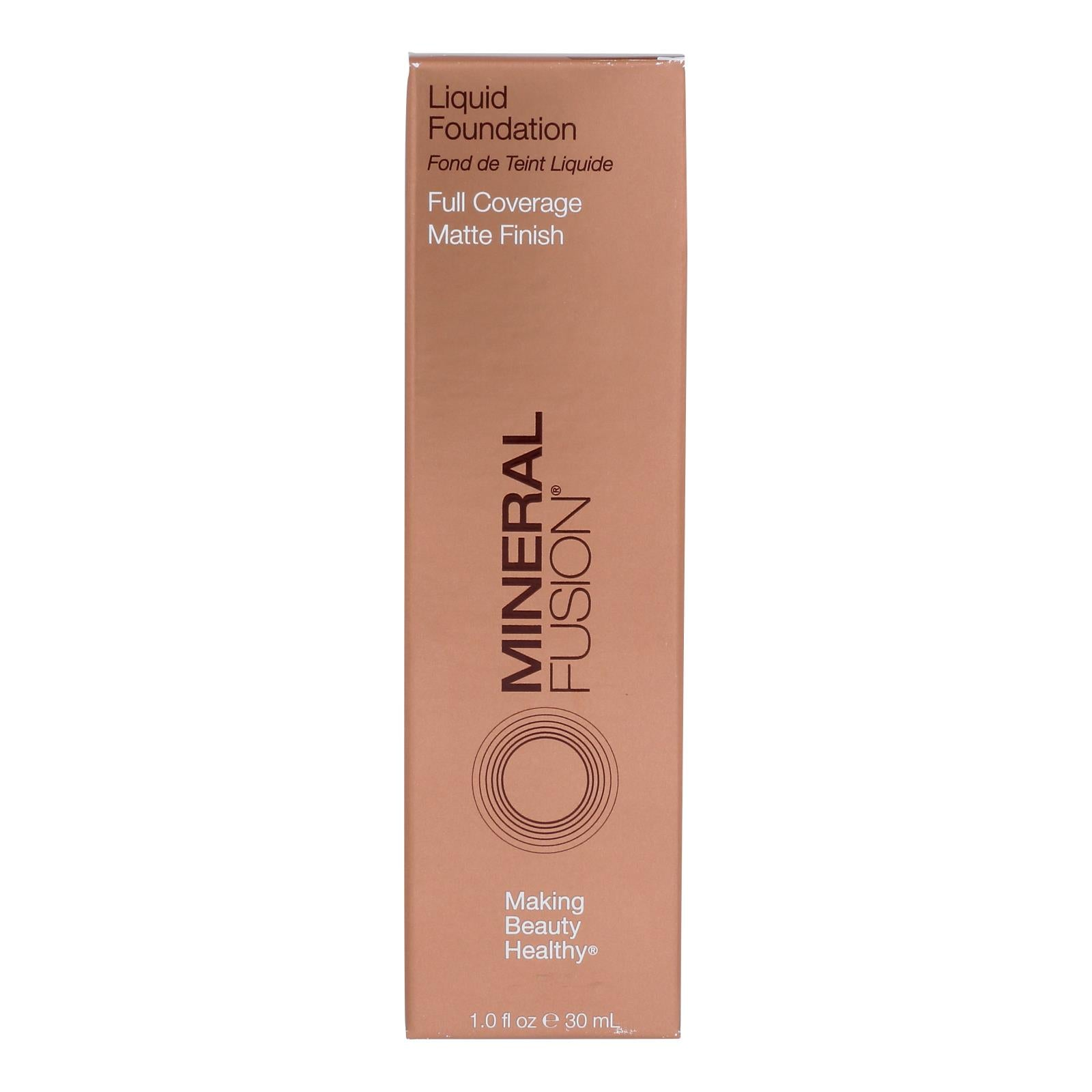 Mineral Fusion - Liquid Mineral Foundation - Deep 1 - 1 Oz.