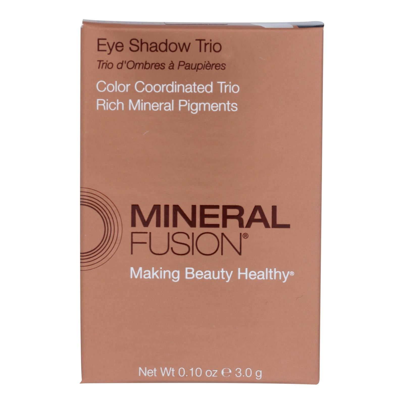 Mineral Fusion - Eye Shadow Trio - Stormy - 0.1 Oz.