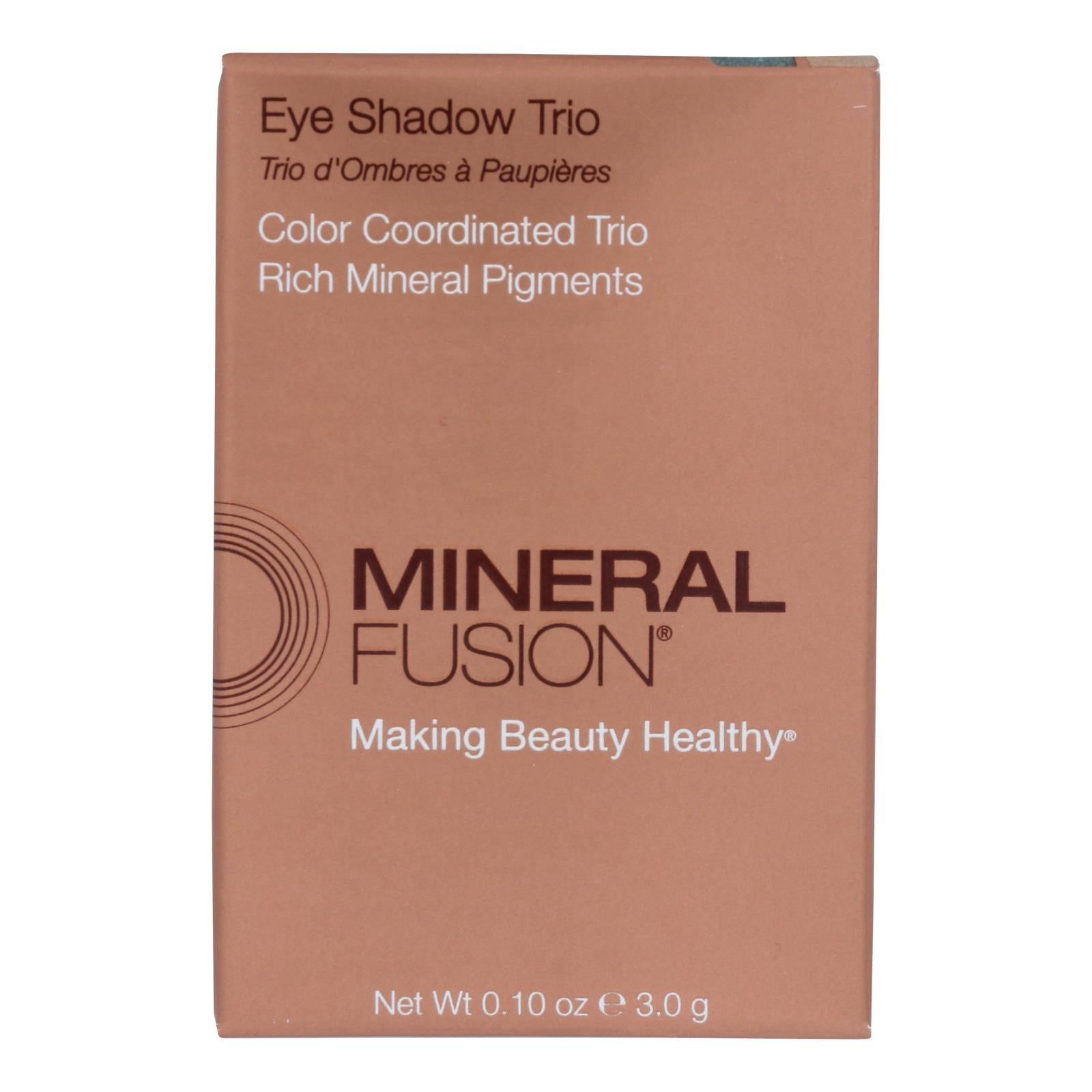 Mineral Fusion - Eye Shadow Trio - Riviera - 0.1 Oz.