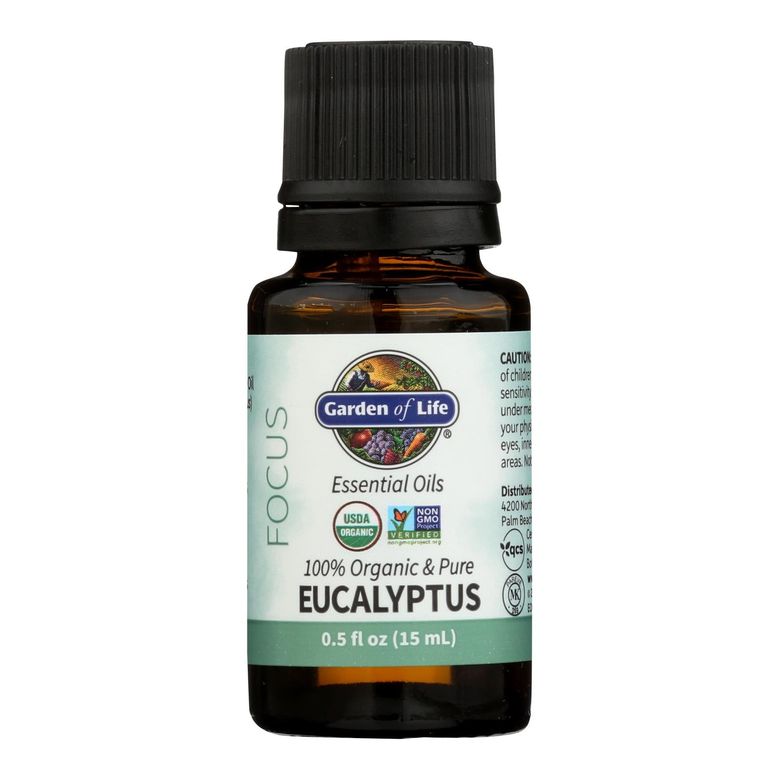 Garden Of Life - Essential Oil Eucalyptus - .5 Fz