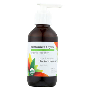 Brittanie's Thyme - Organic Facial Cleanser - Sensitive - 4 Oz.