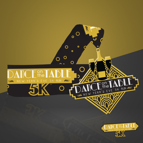 NYE Dance On The Table 5K - Entry + Medal