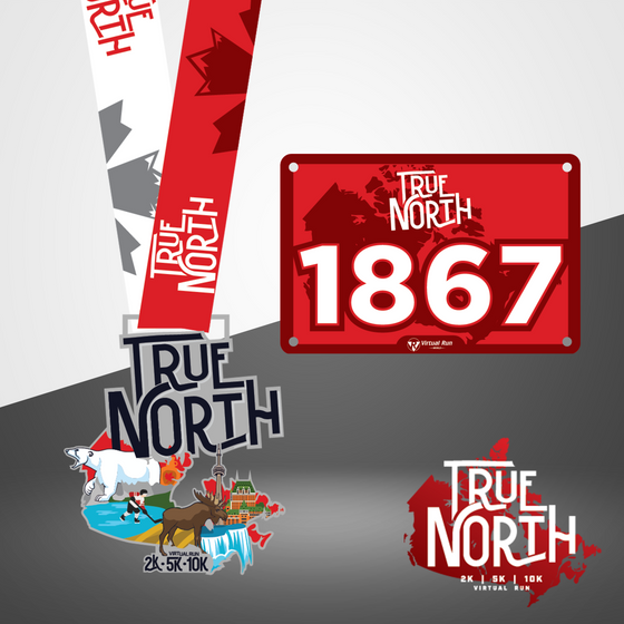 True North 2K | 5K | 10K - Entry + Medal + Shirt