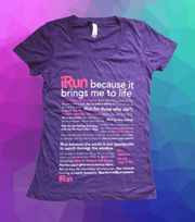 iRun Women's Shirt