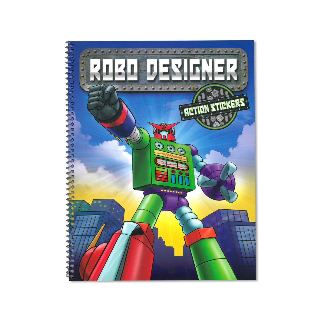 Robot Designer Colouring Book