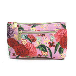Small Cosmetic Bag | Romantic Garden