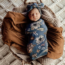 Load image into Gallery viewer, Belle | Snuggle Swaddle & Topknot Set