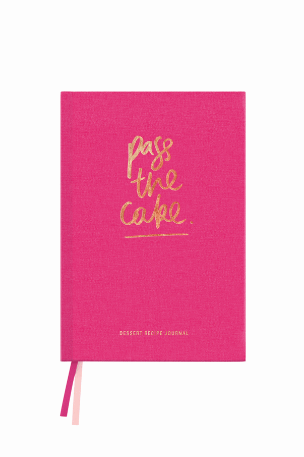 Pass The Cake Dessert Journal
