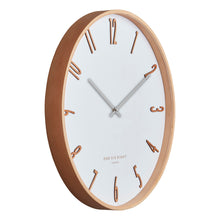 Load image into Gallery viewer, Mason Wall Clock 41cm - White
