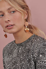 Load image into Gallery viewer, Horizon Earrings | Mustard