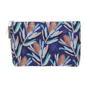 Large Cosmetic Bag | Banksia Dark