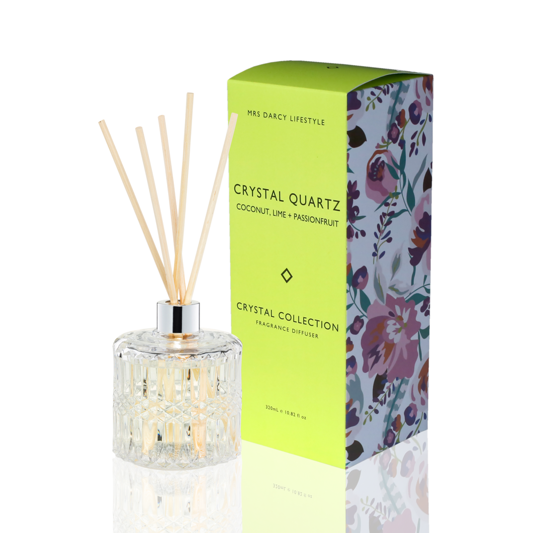 CRYSTAL QUARTZ -  COCONUT, LIME & PASSIONFRUIT | MRS DARCY