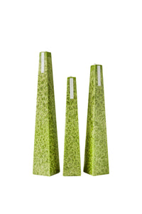 Green Icicle Candle – Lemongrass