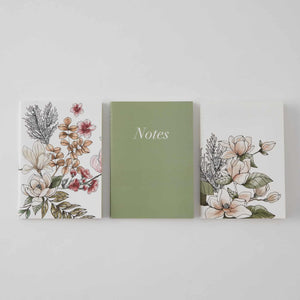 Sanctuary Pocket Notebooks - 3 pack