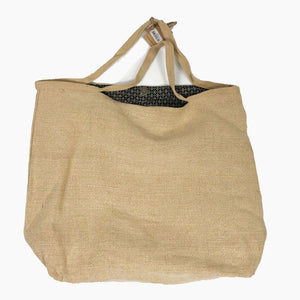Washed Jute Shoppers