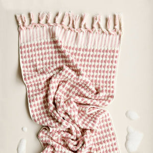 Hand Towel - Pale Pink