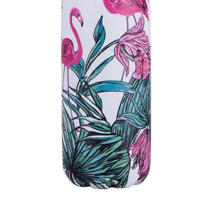 Insulated Drink Bottle - Flamingo