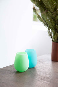 Unbreakable Wine Glasses/ Tumblers - Rain + Mint