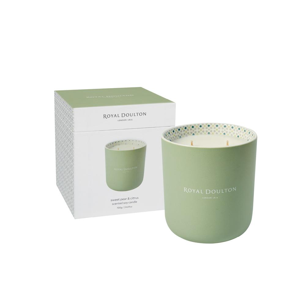 Sweet Pear & Citrus Candle | Royal Doulton