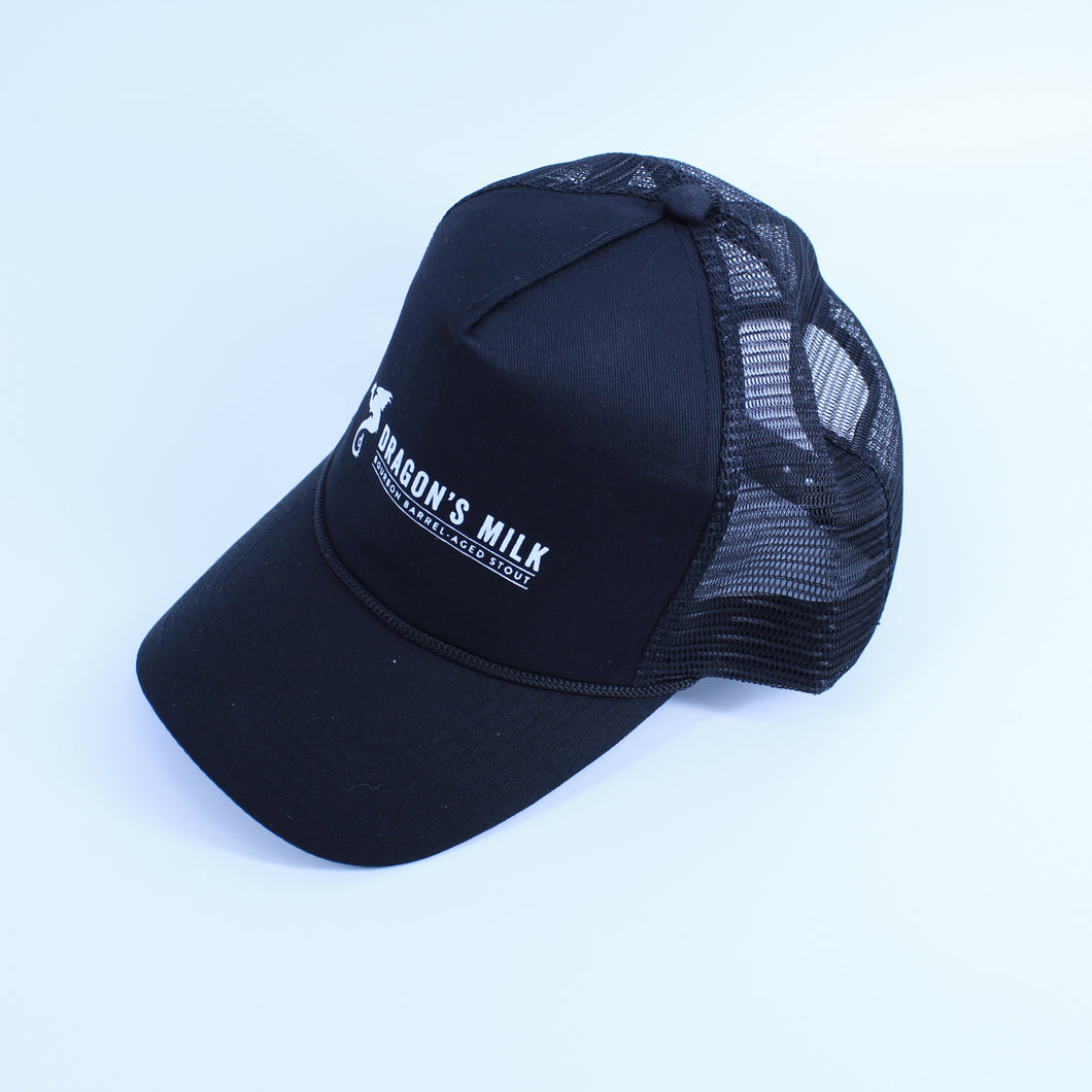 Dragon's Milk Trucker Hat Linear Logo