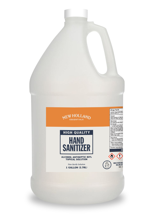 SALE - One Gallon New Holland Hand Sanitizer