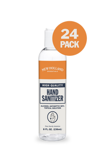 8oz New Holland Hand Sanitizer (24-Pack)
