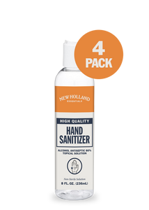 8oz New Holland Hand Sanitizer (4-Pack)