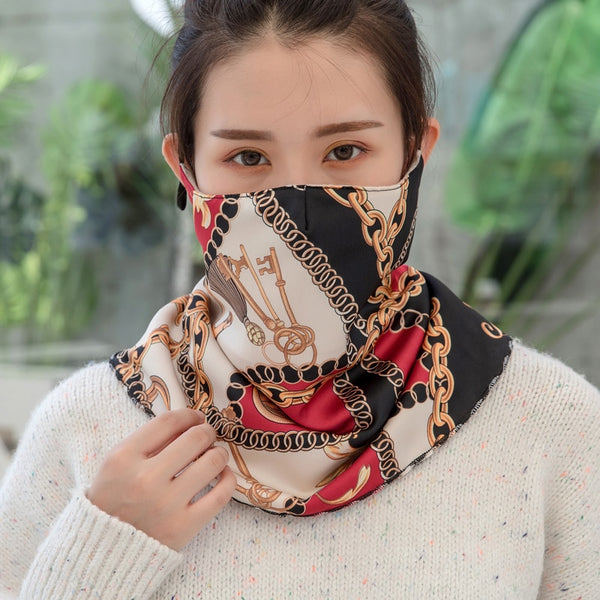 Fashionable mask with cool prints