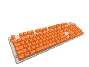 Pure Orange Keycap Set - Kraken Keycaps