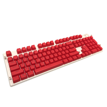 Load image into Gallery viewer, Pure Red Keycap Set - Kraken Keycaps