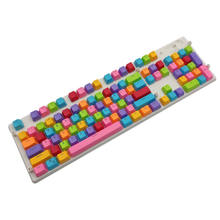 Load image into Gallery viewer, RAINBOW Keycap Set