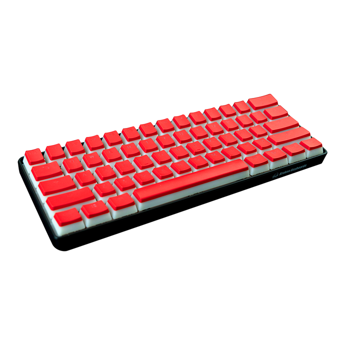 Red Pudding Keycap Set (ISO Keys included)