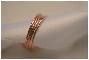 Gold filled stack rings
