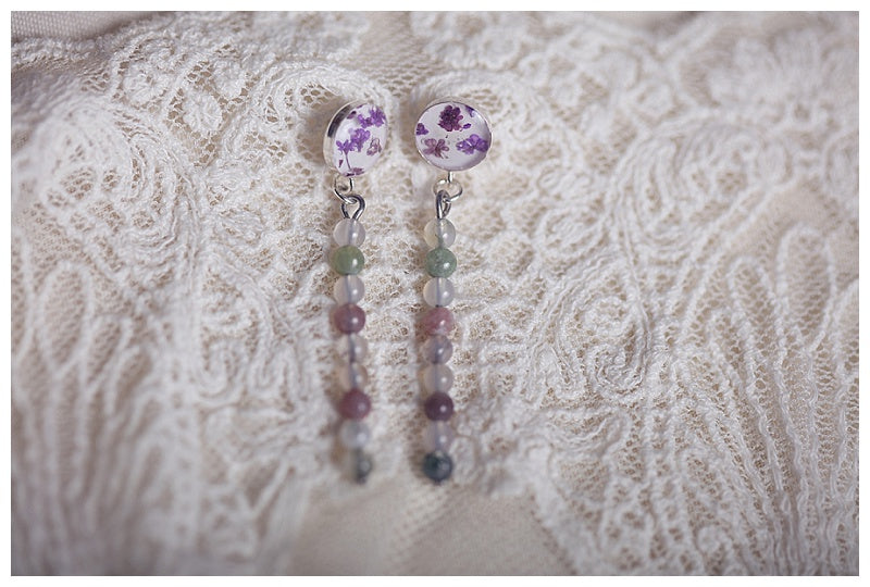 Bride's maid gift earrings