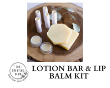 Load image into Gallery viewer, SPA: LOTION BAR AND LIP BALM KIT